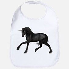 Black Unicorn Bib