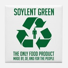 Soylent Green Tile Coaster