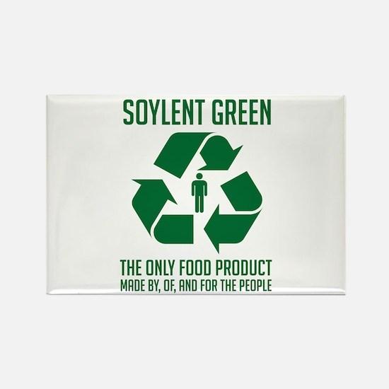 Soylent Green Rectangle Magnet