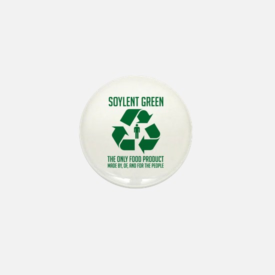 Soylent Green Mini Button
