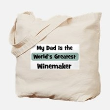 Worlds Greatest Winemaker Tote Bag
