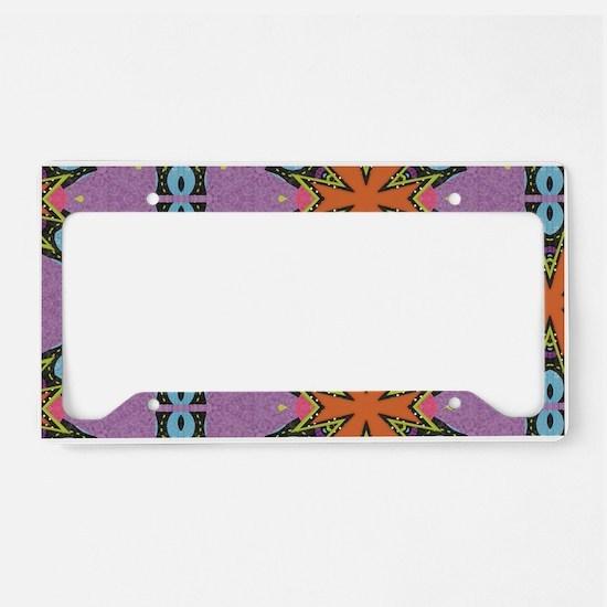 Elegant Decorative Seamless P License Plate Holder