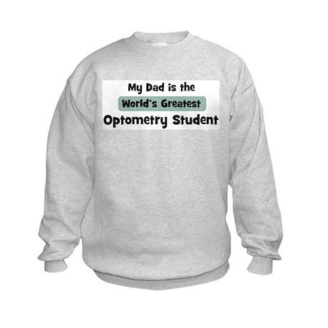 Worlds Greatest Optometry Stu Kids Sweatshirt