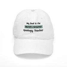Worlds Greatest Geology Teach Baseball Cap