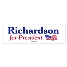 Bill Richardson '08 Bumper Bumper Bumper Sticker