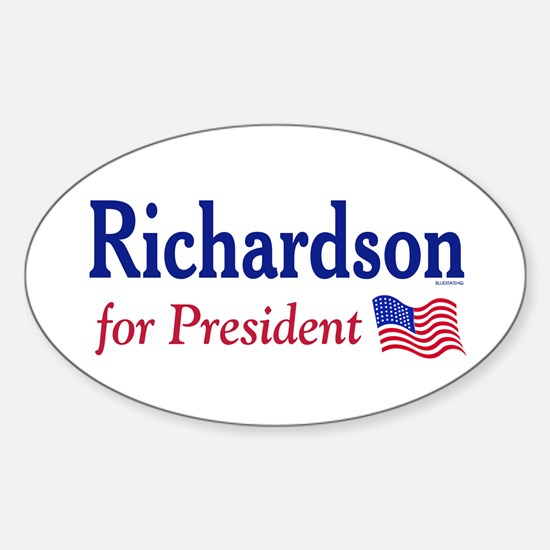 Richardson 2008 Oval Bumper Decal