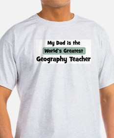 Worlds Greatest Geography Tea T-Shirt