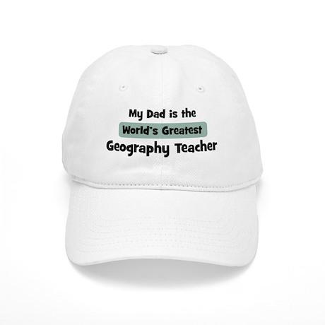 Worlds Greatest Geography Tea Cap