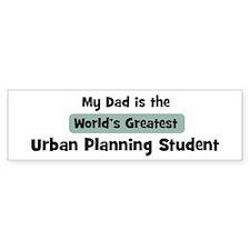 Worlds Greatest Urban Plannin Bumper Bumper Sticker