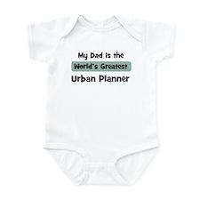 Worlds Greatest Urban Planner Infant Bodysuit