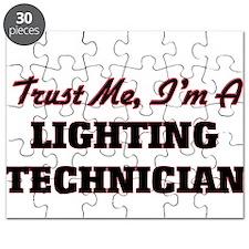 Trust me I'm a Lighting Technician Puzzle
