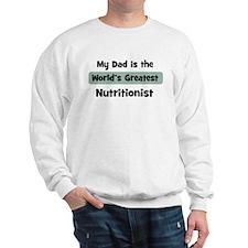 Worlds Greatest Nutritionist Sweatshirt