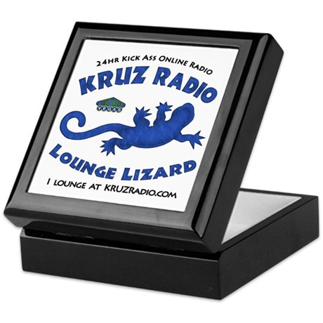 Lounge Lizard Keepsake Box