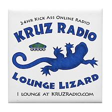 Lounge Lizard Tile Coaster