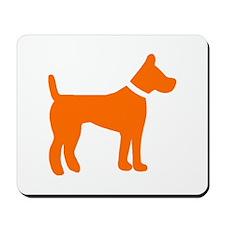 dog orange 1C Mousepad