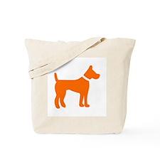dog orange 1C Tote Bag