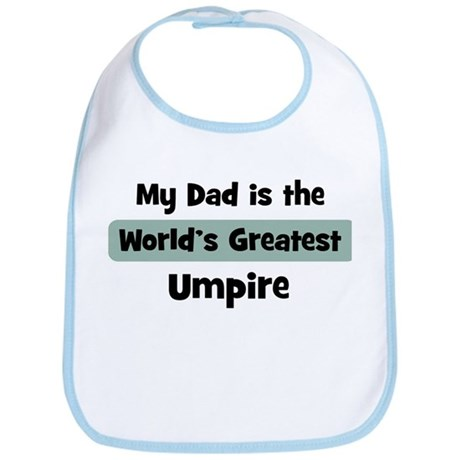 Worlds Greatest Umpire Bib