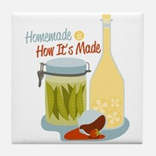 Homemade How It's Made Tile Coaster