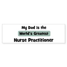 Worlds Greatest Nurse Practit Bumper Bumper Sticker