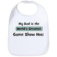 Worlds Greatest Game Show Hos Bib