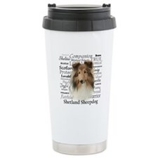 Sheltie Traits Travel Mug