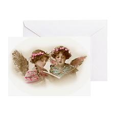 Victorian Children Greeting Card