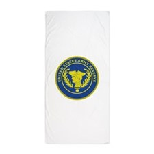 Army Reserve Seal.png Beach Towel