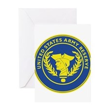 Army Reserve Seal Greeting Cards