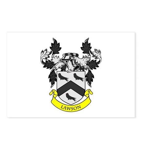 LAWSON Coat of Arms Postcards (Package of 8)