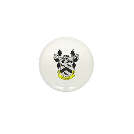 LAWSON Coat of Arms Mini Button (10 pack)