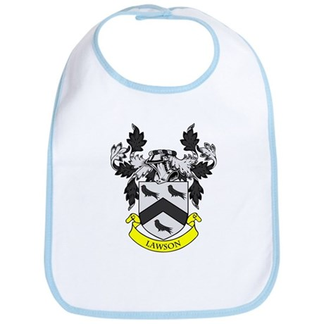 LAWSON Coat of Arms Bib