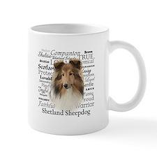 Sheltie Traits Small Mugs