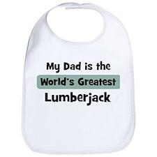 Worlds Greatest Lumberjack Bib