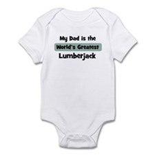 Worlds Greatest Lumberjack Infant Bodysuit