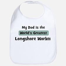 Worlds Greatest Longshore Wor Bib