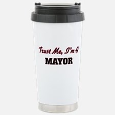 Trust me I'm a Mayor Stainless Steel Travel Mug