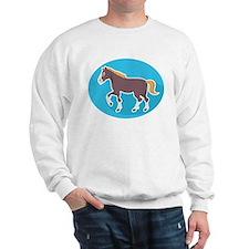 Shire Horse Sweatshirt