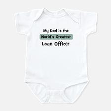 Worlds Greatest Loan Officer Infant Bodysuit