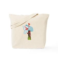 Valentine Mailbox Tote Bag
