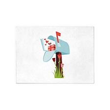Valentine Mailbox 5'x7'Area Rug