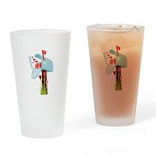 Valentine Mailbox Drinking Glass