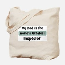 Worlds Greatest Inspector Tote Bag