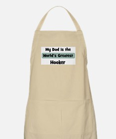 Worlds Greatest Hooker BBQ Apron