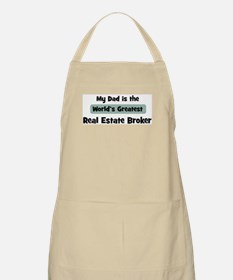 Worlds Greatest Real Estate B BBQ Apron