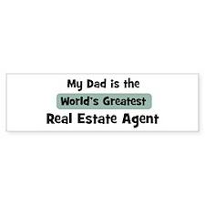 Worlds Greatest Real Estate A Bumper Bumper Sticker