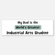 Worlds Greatest Industrial Ar Bumper Bumper Bumper Sticker