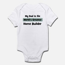Worlds Greatest Home Builder Infant Bodysuit