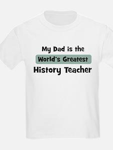 Worlds Greatest History Teach T-Shirt