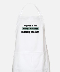 Worlds Greatest History Teach BBQ Apron