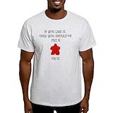 Carcassonne Mens Light T-shirts